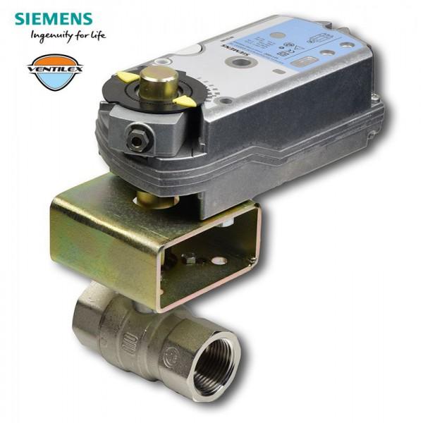 """S1021 Rp3/4"""" + GMA321.1E kulový kohout závitový se servopohonem"""