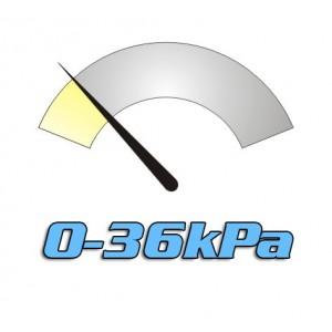 Pracovní tlak do 36kPa