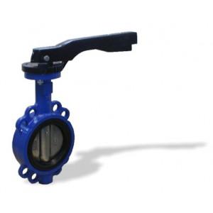 L32171616.11-DN65 - mezipřírubová klapka s ruční pákou