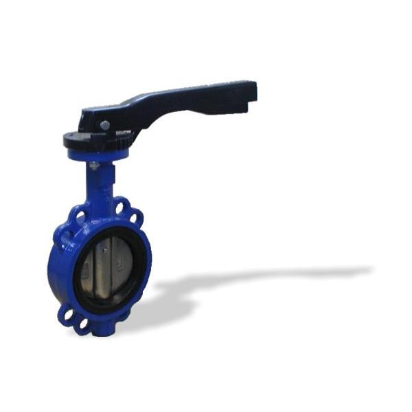 L32171616.11-DN100 - mezipřírubová klapka s ruční pákou