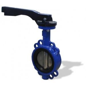 L32171616.12-DN100 - mezipřírubová klapka s ruční pákou