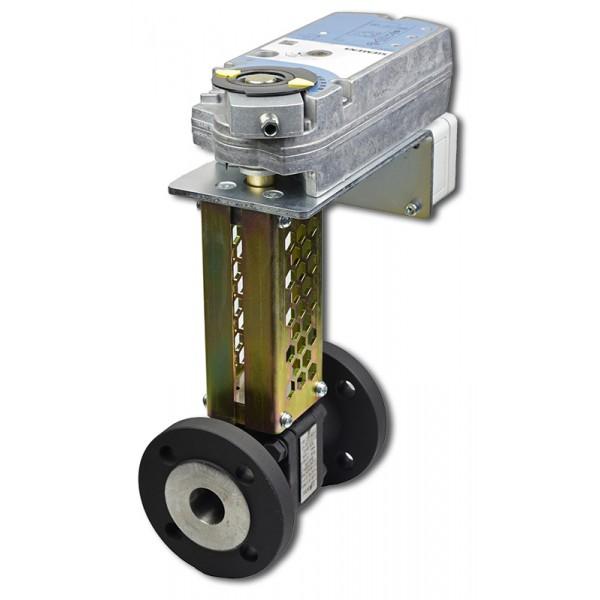 ART41205.3 DN15 + GMA havarijní kulový kohout pro páru se servopohonem
